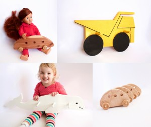 Image of multiple handmade wooden products available through ThomasWoodcrafts.com