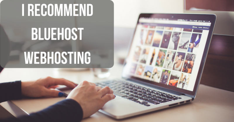 I recommend Bluehost Webhosting