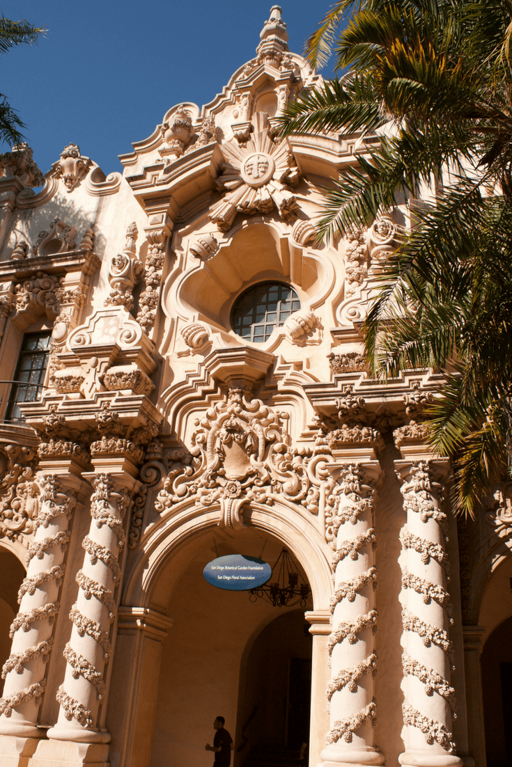 Image of one of the buildings in Balboa Park